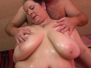 Busty Abby Tits cannot have enough be fitting of his hard boner in say no to cunt