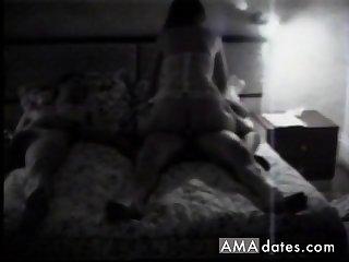 Slut become man rides a stranger on hidden camera.
