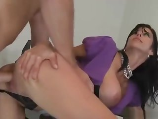 Cute dusky mature woman Alexis Fawx is sucking my dick