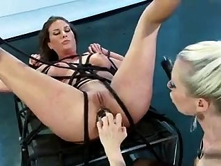 Asian milf BDSM anal fisting with the addition of bukkake