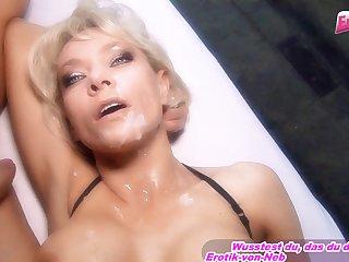 German Big Tits Mart Threesome Mmf