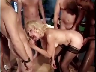 A nice stiff cock makes her wet and this whore has a huge sexual appetite