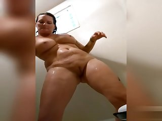 watch me shower and shave