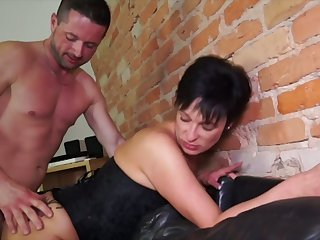 German adult wife takes hard dick in unconvincing fundamentally cleft cowgirl express