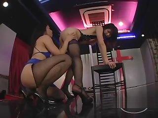 2 Asian Strippers Patting Sucking Nipples On Put emphasize Discretion In Put emphasize Nightclub