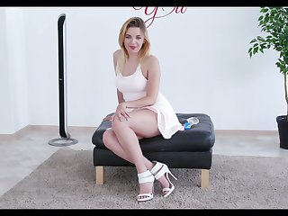 Slutty housewife hither saggy big tits Jessica Spielberg is exam new coitus toy