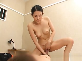 Asian gal has fucking and sucking part2