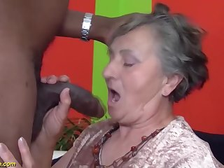 80 years aged grandmother uncompromisingly first multiracial