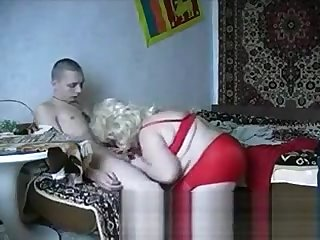 Fat Granny Shows Off Her Tits