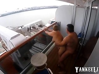 Sex on the balcony