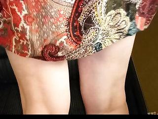 Cum in String Voyeur public Panties wet Tanga voll wixxen