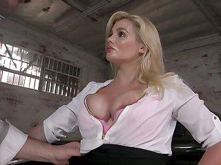 Exploitatory drives can't cock a snook at making out fat boobs and juicy cunt of sexy milf Katy Jayne