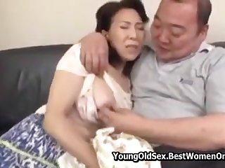 Japanese Stepmom Objurgatory Fap By Not Stepson