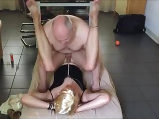 young Crossdresser acquire pounded Wits Daddy sky pilot